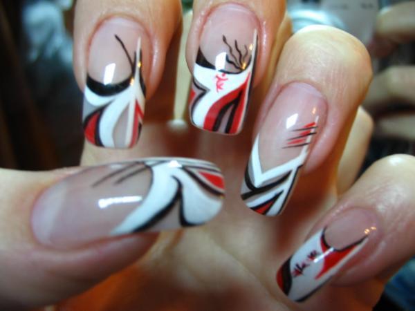 Маникюр гелевые ногти дизайн фото 2010